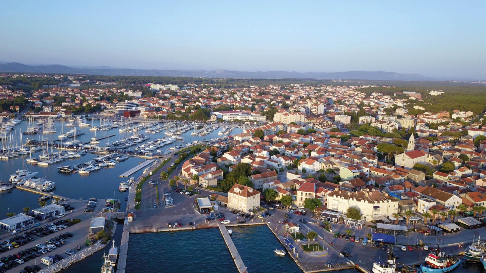 Biograd na Moru kroatie