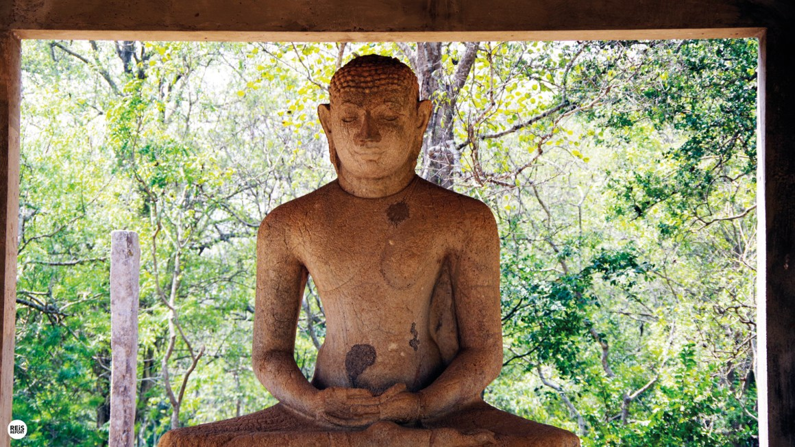 Anuradhapura boeddha