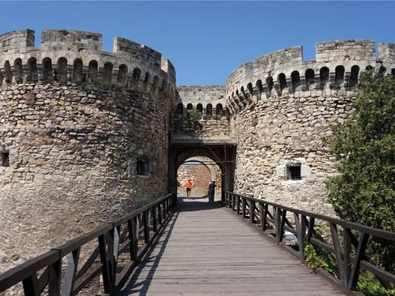 Kalemegdan fort belgrado entree
