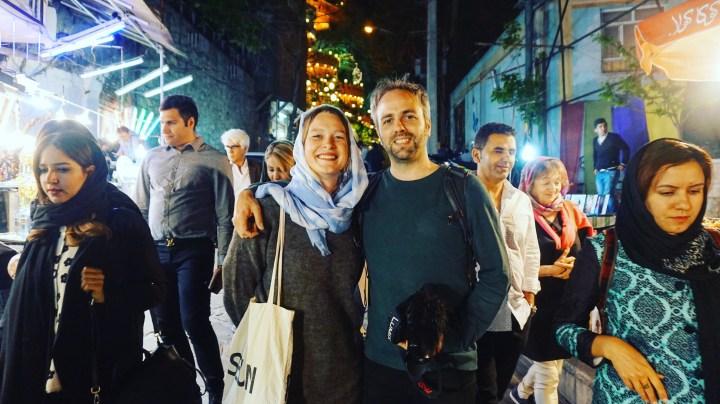 Reisgids Iran Makers Marlou en Godfried