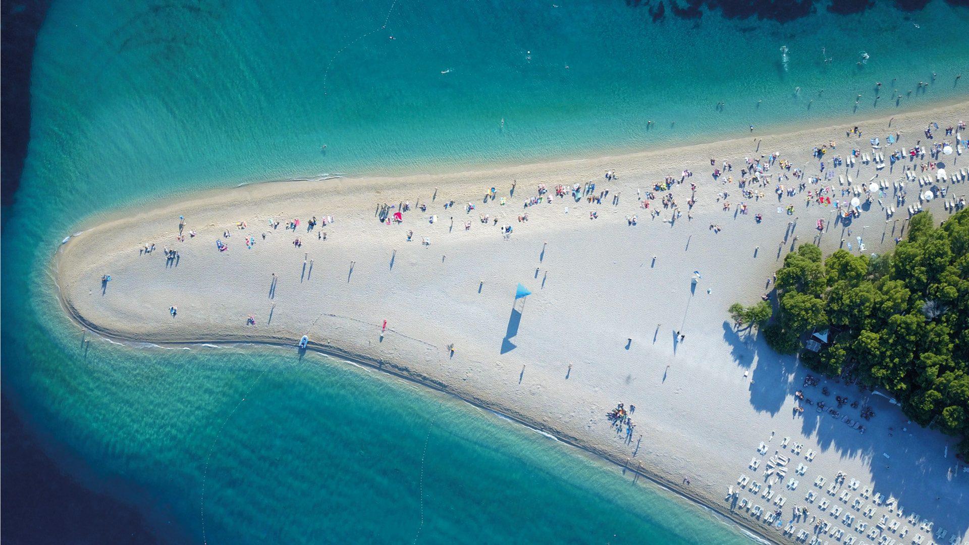 Bra het mooiste eiland van Kroati  REiSREPORT