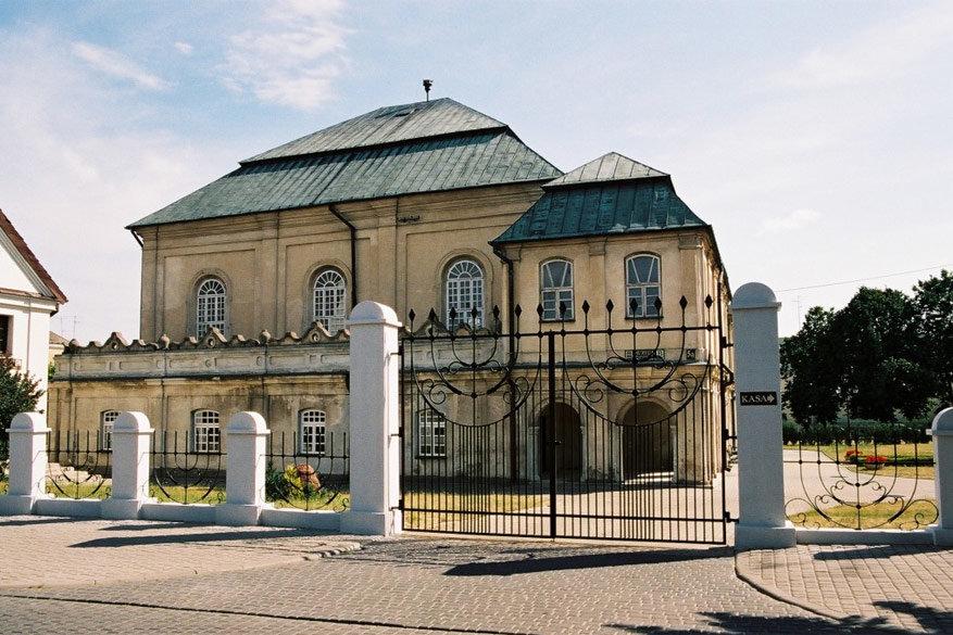 De synagoge in Wlodawa doet dienst als gebedsplaats en museum © Wikimedia Commons