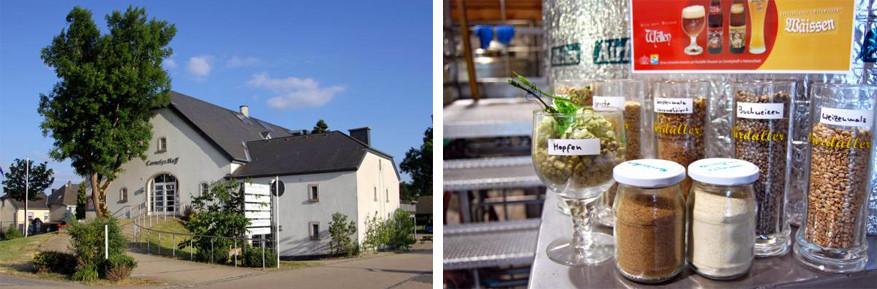 Restaurant Cornelyshaff met de Ourdallerbrouwerij © Toerisme Luxemburg