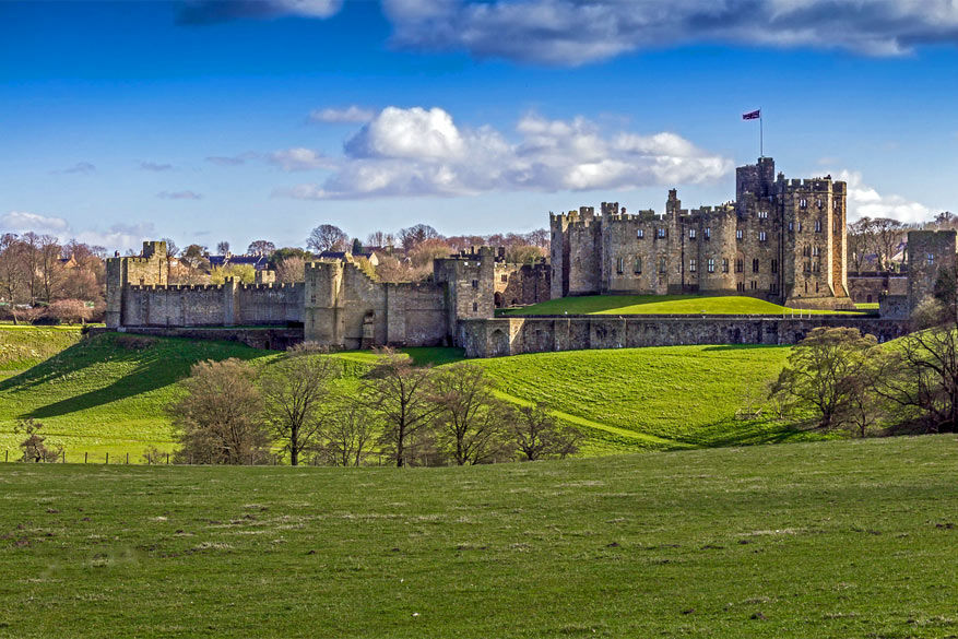 Downton Abbey: Alnwick Castle in Northumberland