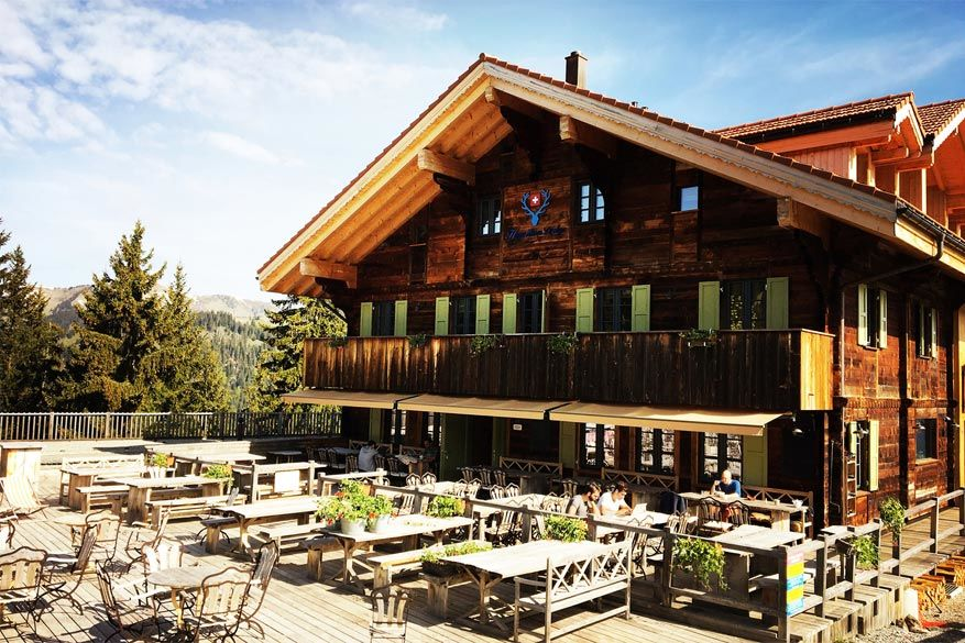 Co-working hotel in Gstaad-Zweisimmen