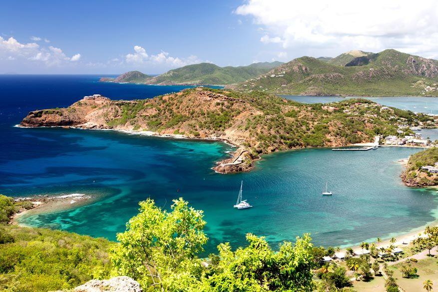 Antigua: een van de parels van de Caribische Zee.