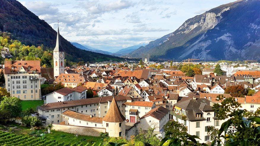 Chur, de prachtige Alpen- en hoofdstad van Graubünden. © Pixabay