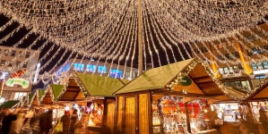 De kerstmarkt in Essen: internationale allure en lichtjespret