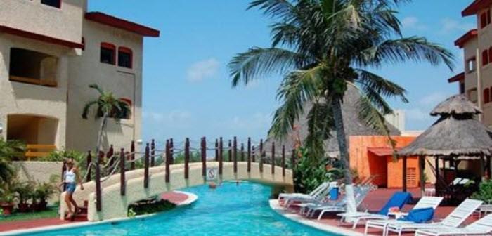 FEBRUARI – €732 voor 14-Daagse STRANDVAKANTIE MEXICO inclusief vlucht + transfers + Hotel Cancun Clipper Club (7.7)