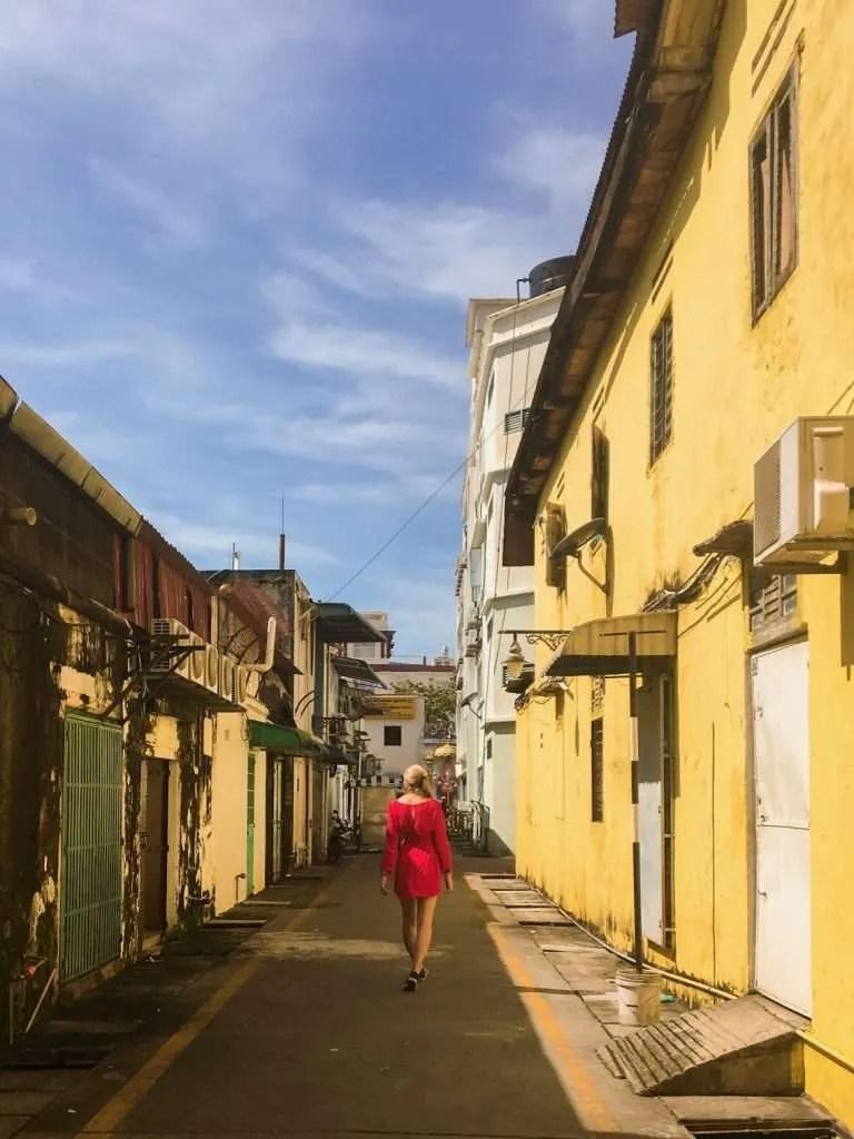 Street George Town Penang Malaysia
