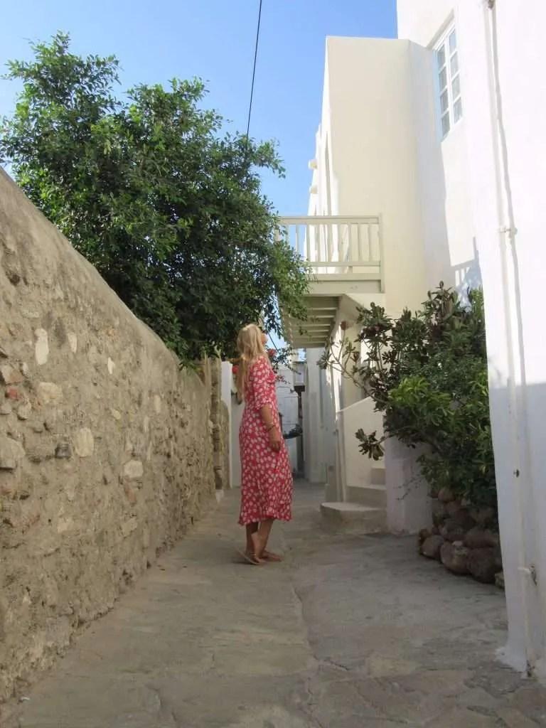 Naxos old town Griekenland
