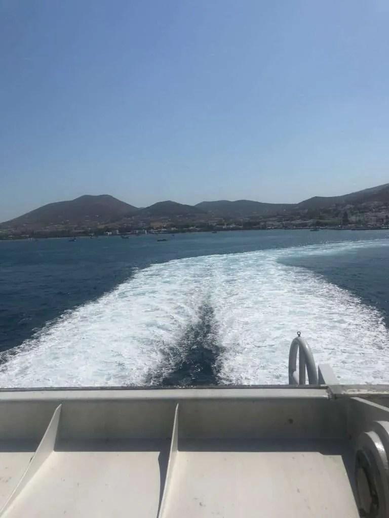 Ferry Naxos Griekenland Cycladen
