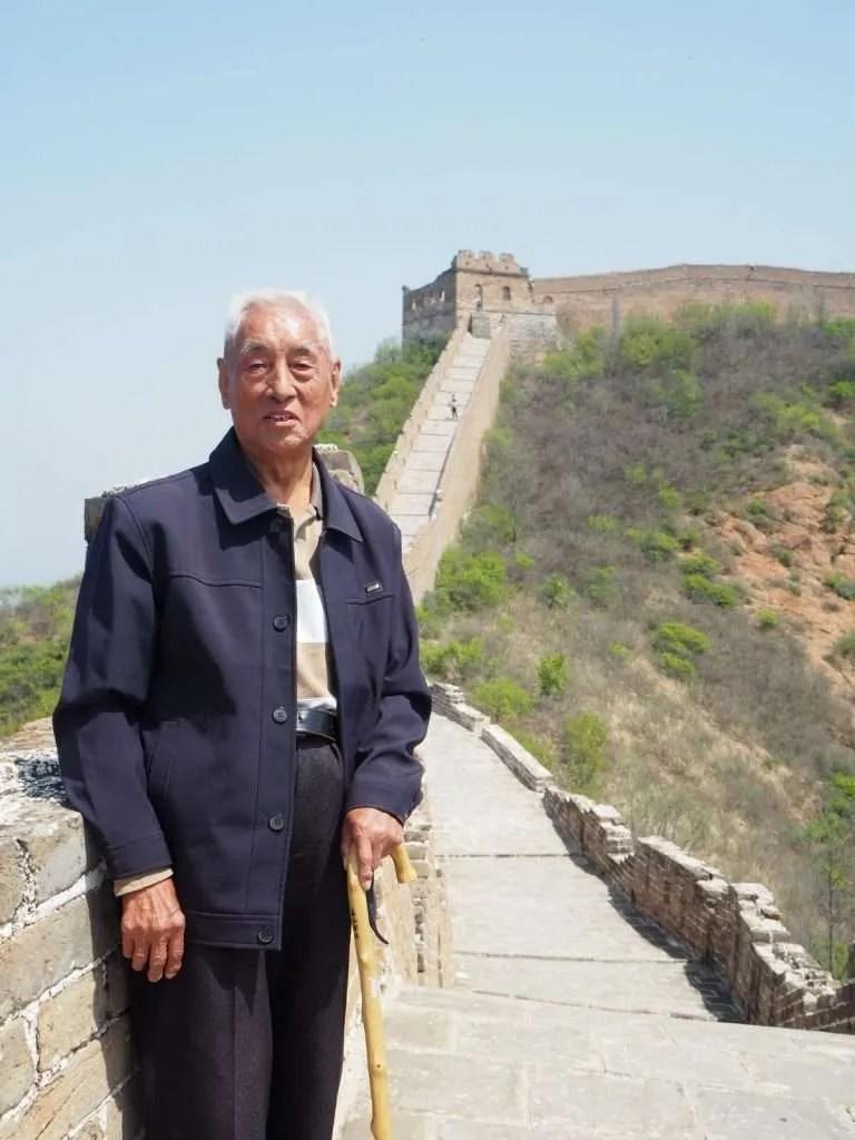 China Great Wall of China Chinees Man
