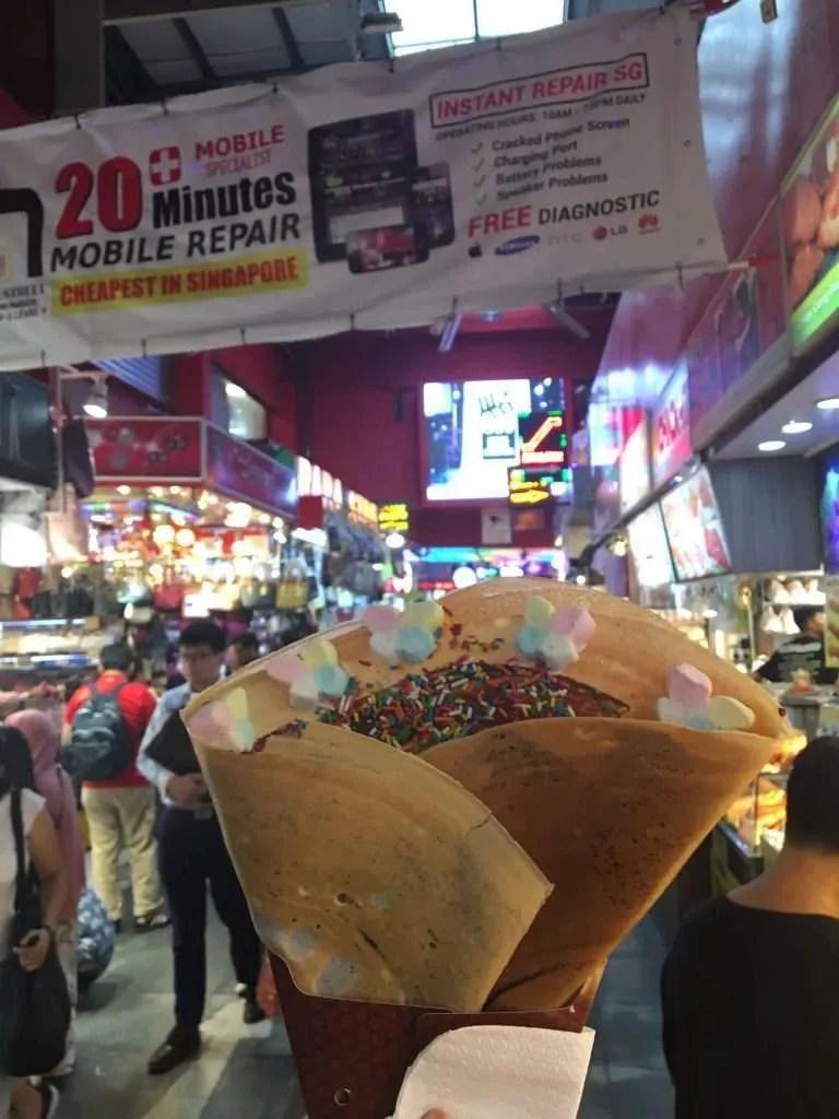 Streetfood Azië markt eten
