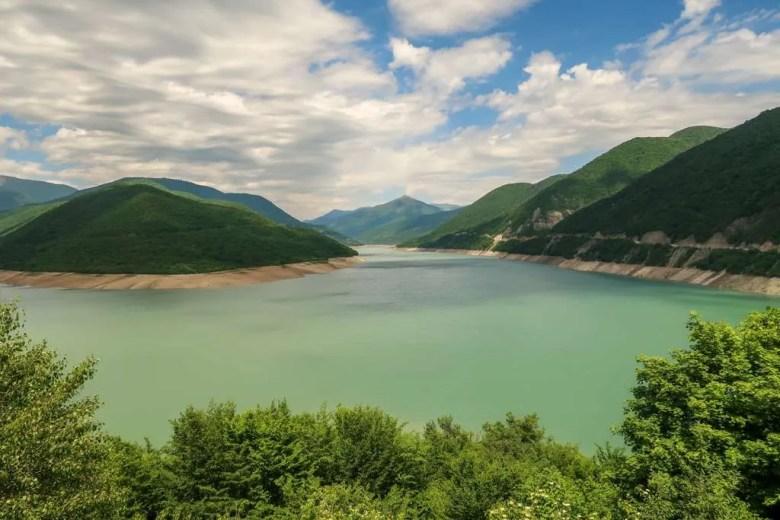 10 Military Highway - Zhinvali meer