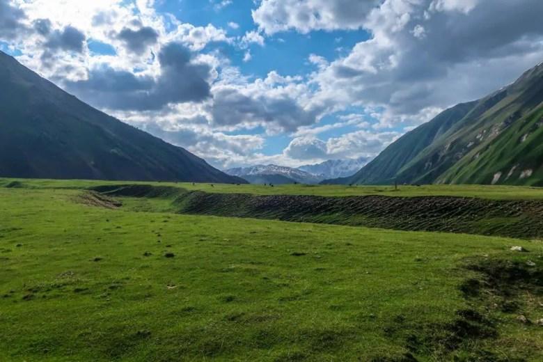 13 Kazbegi - Truso vallei