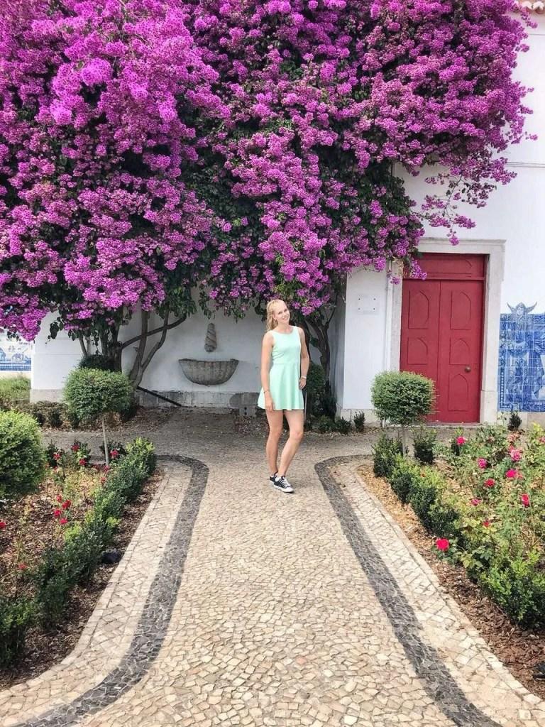 stedentrip tuinen lissabon bloemen