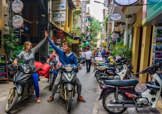 motor route door vietnam