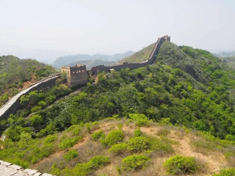 bergen uitzicht Chinese muur wandelen