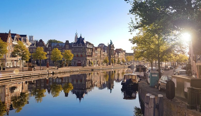 Haarlem city view