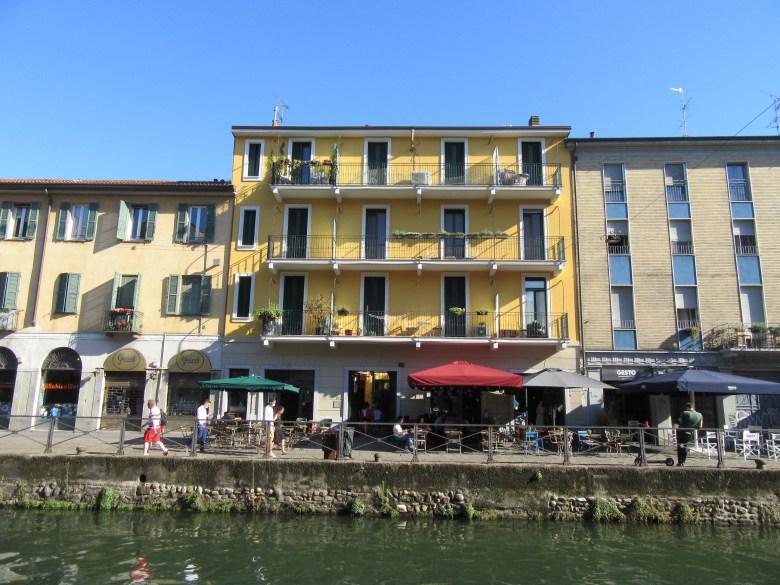 Stedentrip Milaan, de wijk Navigli