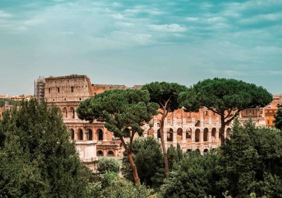 reisroute Italië Colosseum Roma Italy