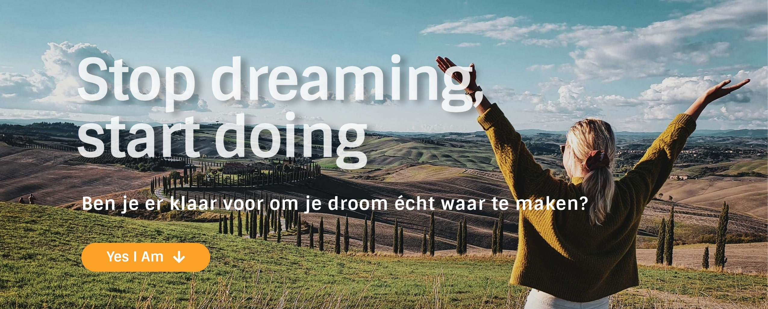 Dromen realiseren kun je leren