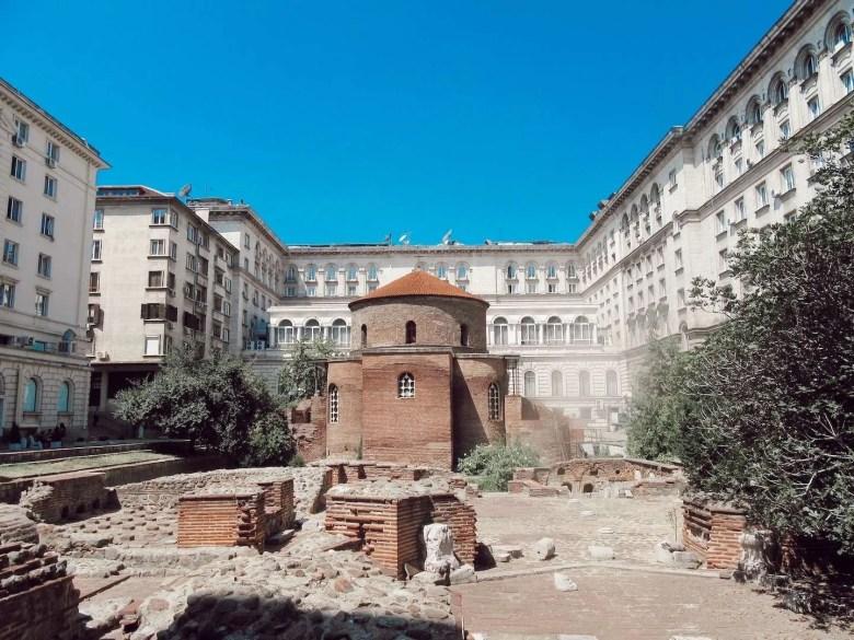 Sint-Joriskerk Sofia Bulgarije