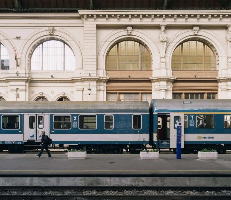 Budapest Hongarije treinstation
