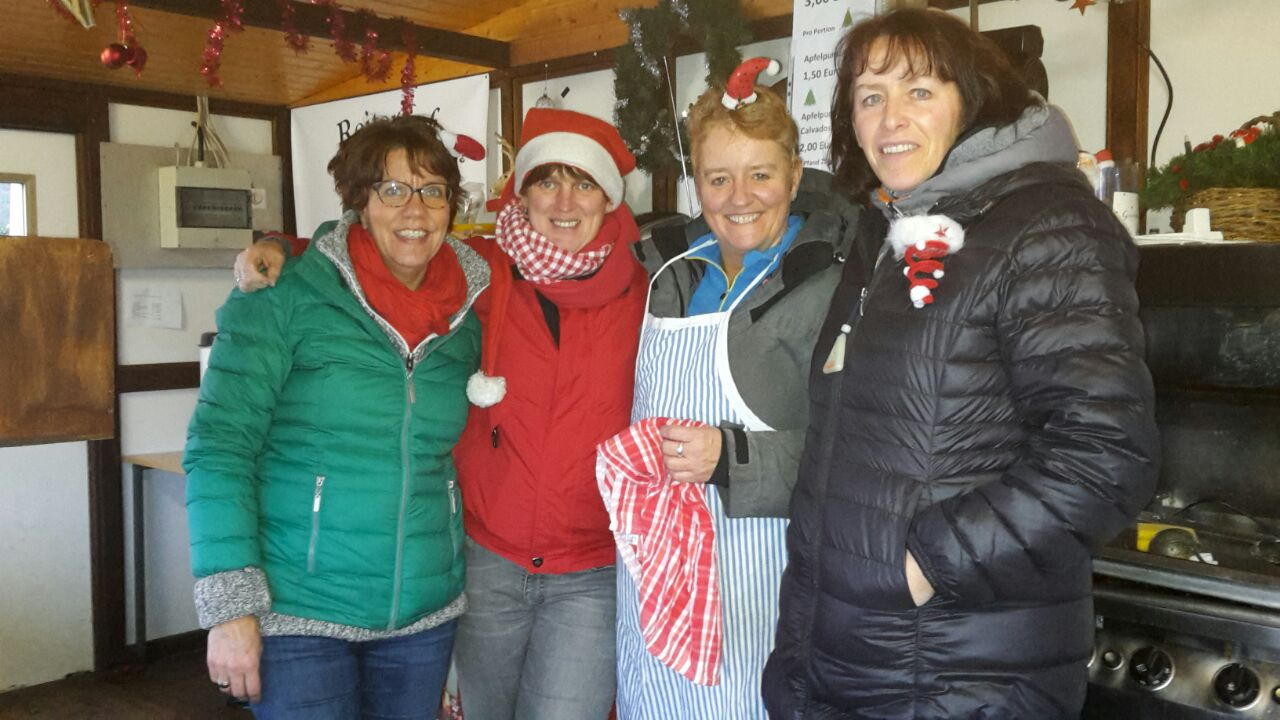 Unsere Teams vom Holter Weihnachtsmarkt