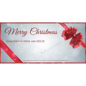 Geschenkgutschein Weihnachten 1