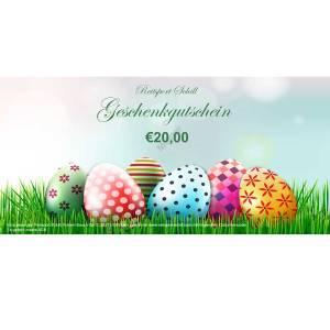 Geschenkgutschein Ostern 2