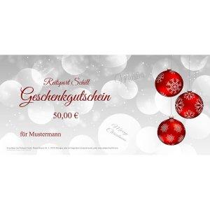 Geschenkgutschein Weihnachten 10