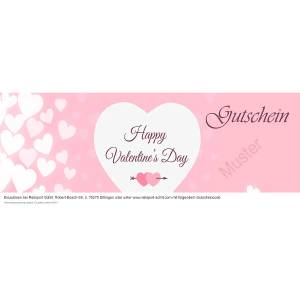 Geschenkgutschein Valentinstag 2