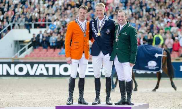 Peder Fredricson verdienter European-Champion 2017