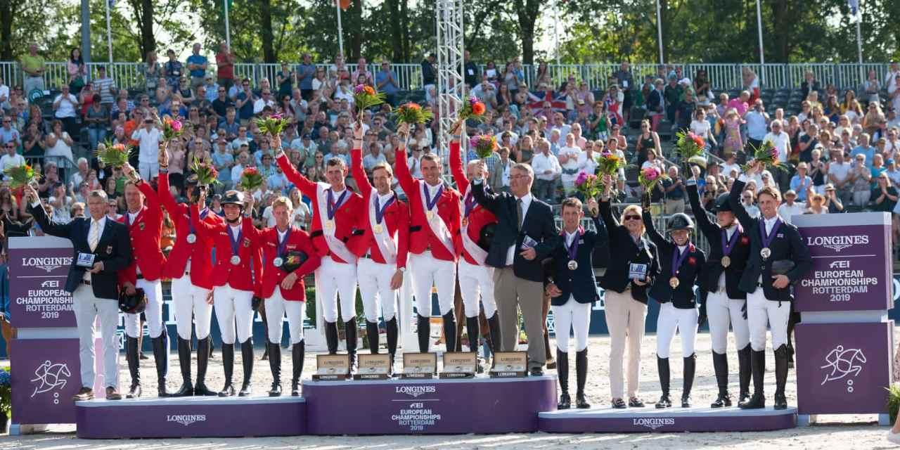 Belgien feiert den  ersten  Team-Europameister-Titel