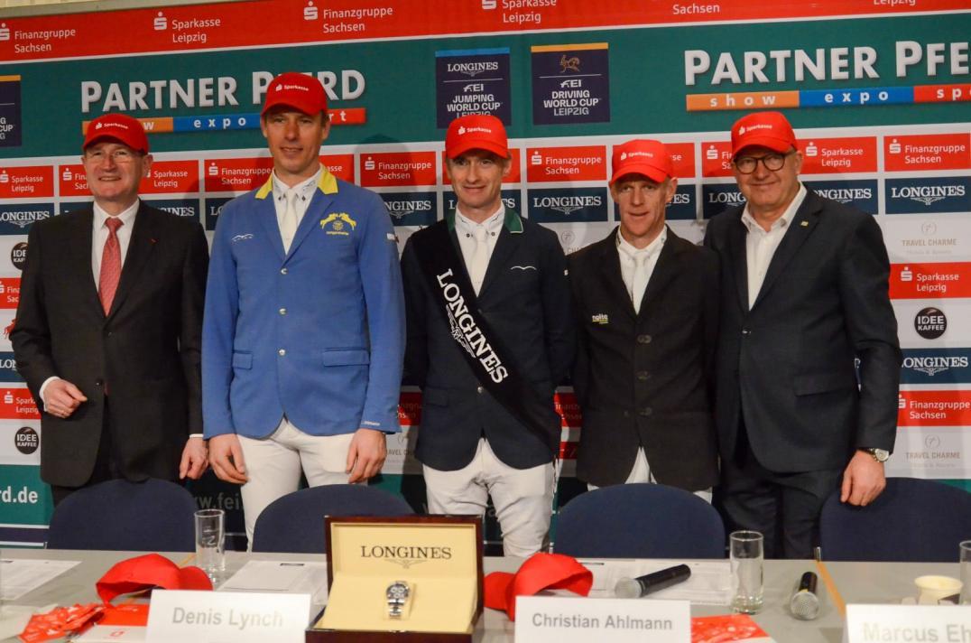 Harald Langenfeld,Christian Ahlmann,Denis Lynch,Marcus Ehning,Volker Wulff