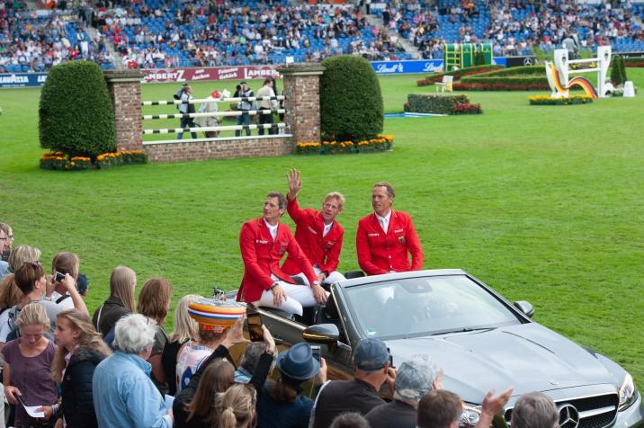 Nationenpreis- das deutsche Team