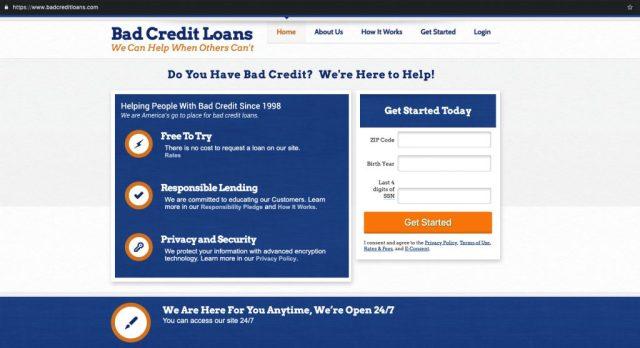 BadCreditLoans_Homepage
