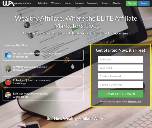 wealthyaffiliate.com - Wealthy Affiliate