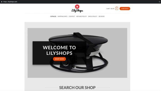 LilyShops_Homepage