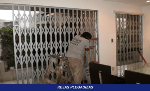 REJAS PLEGADIZAS EN PERU  INGEFASA