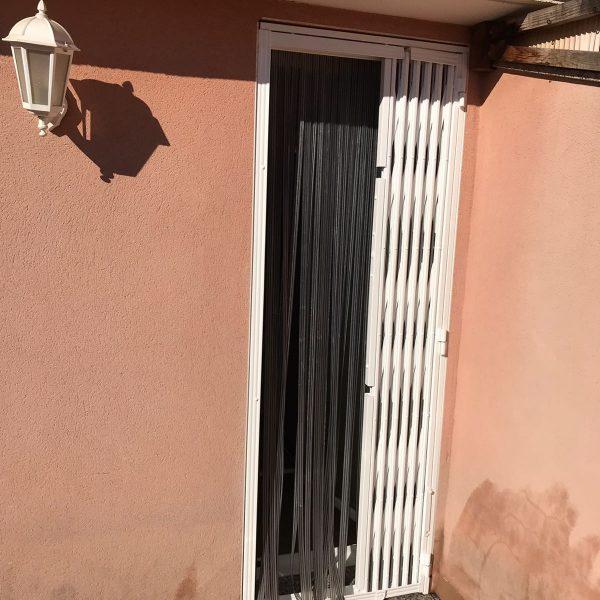 rejas de ballesta puerta terraza