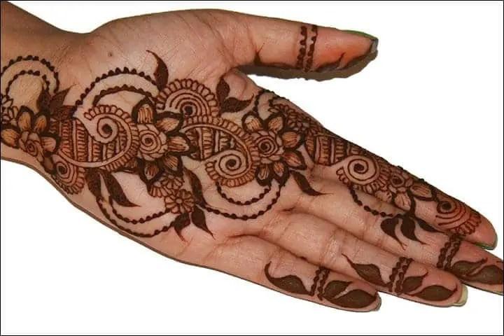 Henna Art Tangan Pengantin