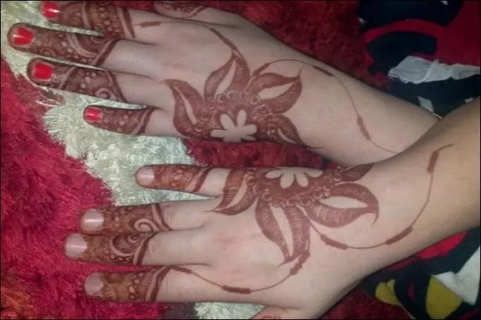 motif henna untuk pemula