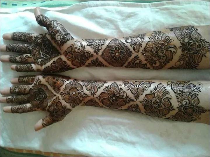 Henna Kaki Simple