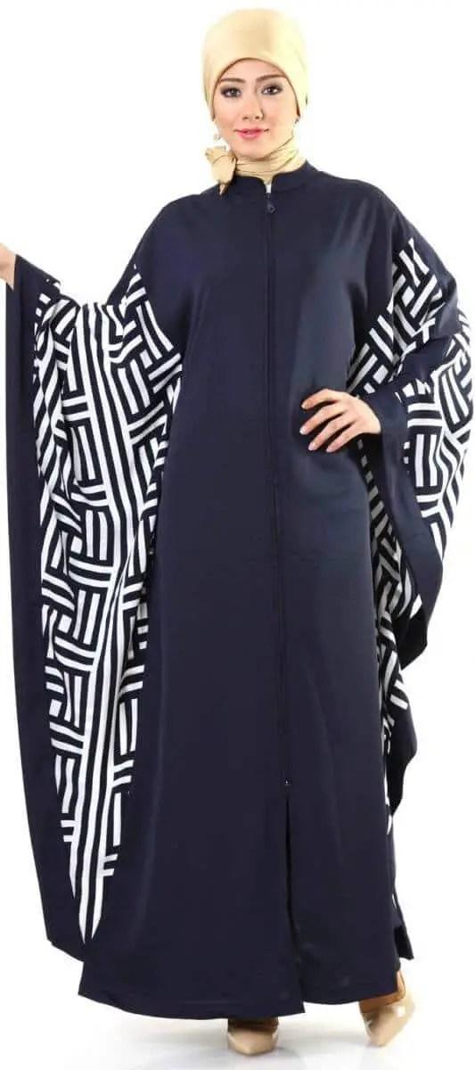 abaya motif simple