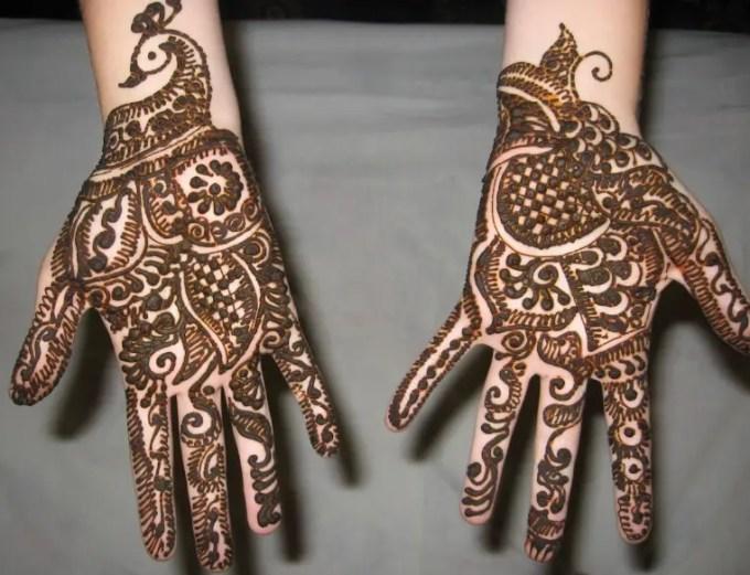 inai tangan motif cantik