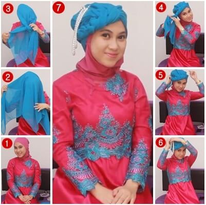 model hijab kebaya untuk kondangan
