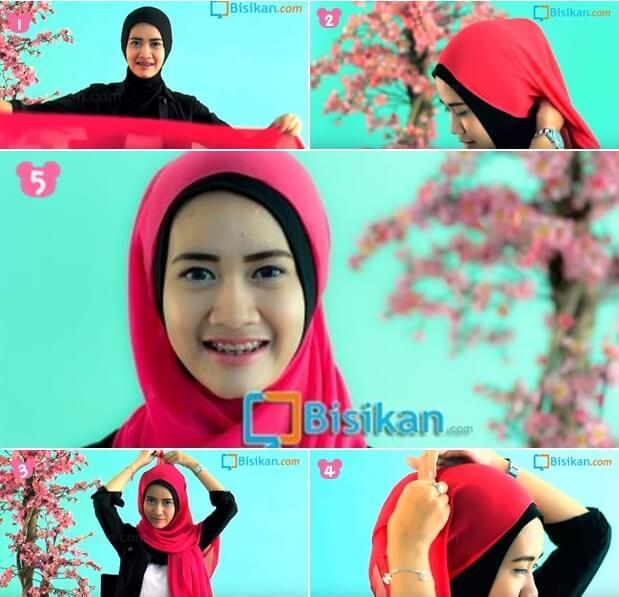 model hijab pashmina untuk hangout